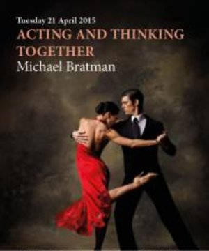 Acting and Thinking Together book cover with tango couple